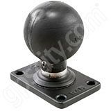 RAM Mount 2 x 3 inch Plate with 2.25 inch Ball