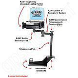 RAM Mount Ford Vehicle Laptop Mount RAM-VB-108-SW1v1