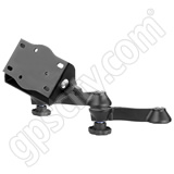RAM Mount Double Swing Arm with 45 degree Tilt-N-Turn Plate