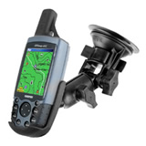 NPI RAM Garmin GPSMAP 60C and Astro Pivot Suction Cup Mount