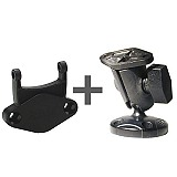 RAM Mount Garmin Cradle Clip Short Screw Mount RAP-B-104-GA11U
