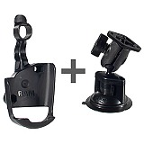 RAM Mount GPSMAP 60C Series Locking Suction Mount