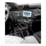 RAM Mount Tough Tray II Vehicle Floor Netbook Mount 1.5 inch Ball RAM-316-1-234-6U