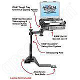 RAM Mount Chevrolet GMC Laptop Vehicle Mount RAM-VB-114-SW1