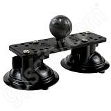 RAM Mount Dual Suction Mount Base C-Ball RAM-224-111