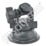 RAM Mount 3.25 inch dia Locking Suction Base with Pivot Button