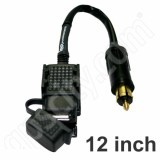 3BR Powersports TAPP Lite USB Power Port to BMW Plug 12 inch