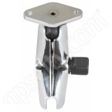 RAM Mount Chrome Standard Arm Diamond Plate Open Socket Assembly