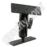 RAM Mount Dual Rectangular Plate Mount with 1.5 inch Ball