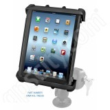RAM Mount Tab-Lock Large Tablet Flat Surface Rugged Locking Mount 1.5 inch Ball