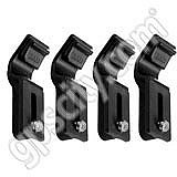 RAM Mount 4 Pack Curved Side Leg Keepers for RAM Laptop Tray