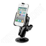 NPI RAM Apple iPhone 4 Screw Down Mount RAP-B-138-AP9U