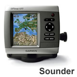 Garmin GPSMAP 420s Sounder with Dual Frequency Transducer