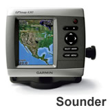 Garmin GPSMAP 430s Sounder with Dual Beam Transducer