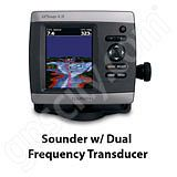 Go to the Garmin GPSMAP 431s Sounder with Dual Beam Transducer page.