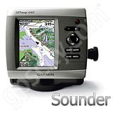 Garmin GPSMAP 440s Sounder with Dual Frequency Transducer