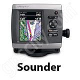 Go to the Garmin GPSMAP 441s Sounder page.