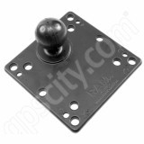 NPI RAM VESA 75 100 Compatible Monitor Plate with 1.5 inch Ball