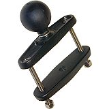 RAM Mount Square 3 inch Rail Clamp Base with 1.5 inch Ball