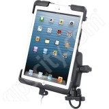 RAM Mount Apple iPad mini Tab-Dock 11 Zinc Handlebar Rail Mount RAM-B-149Z-TAB11U