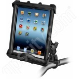 RAM Mount Apple iPad LifeProof Lifedge Case Zinc Handlebar Rail Mount Tab-Tite 17