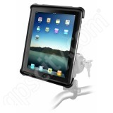 RAM Mount Universal iPad Tab-Lock Locking Motorcycle and Rail Mount