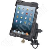 RAM Mount Apple iPad mini Dock-N-Lock 11 Zinc Handlebar Rail Mount RAM-B-149Z-TABL11U