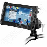 RAM Mount Tab-Lock Small Tablet Handlebar Rail Locking Mount Zinc