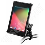 RAM Mount Tab-Tite Small Tablet Handlebar Rail Mount Zinc