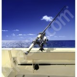 RAM Mount Plastic ROD-2007 Rod Holder with Ball Adaptor Tallon Flush Mount Receiver