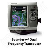 Go to the Garmin GPSMAP 536s Sounder with Dual Beam Transducer page.