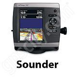 Go to the Garmin GPSMAP 541s Sounder page.