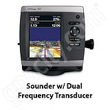 Go to the Garmin GPSMAP 541s Sounder with Dual Frequency Transducer page.