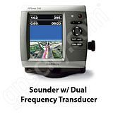 Go to the Garmin GPSMAP 546s Sounder with Dual Frequency Transducer page.
