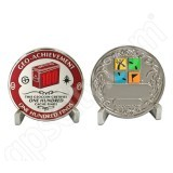 Geocaching Official 100 Finds Geocoin