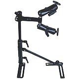 RAM Mount Vehicle Seat Rail with 2x Arm Mount