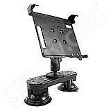 NPI RAM Fujitsu LifeBook U810 Tablet Dual Suction Mount