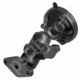 RAM Mount Locking Cone Suction Cup with Aluminum Short Arm Assembly RAM-B-166-2-AU