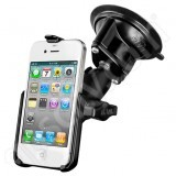 NPI RAM Apple iPhone 4 Suction Mount RAM-B-166-AP9U