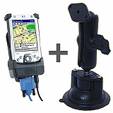 RAM Mount Compaq iPaq 2200 Powered PDA Locking Suction Mount