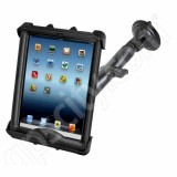RAM Mount Apple iPad LifeProof Lifedge Case Long Arm Suction Cup Mount Tab-Tite 17