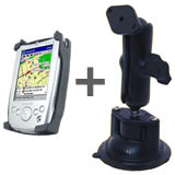 RAM Mount Del Axim X5 PDA Locking Suction Cup Mount