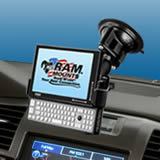 NPI RAM OQO model 02 UMPC Locking Suction Cup Mount