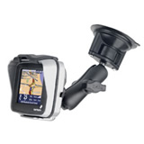 NPI RAM TomTom Rider Locking Suction Cup Mount