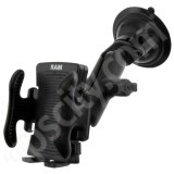 RAM Mount Universal Side Clamping Locking Suction Cup Mount