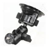 RAM Mount Locking Suction Cup Mount Short with Mini Camera Plate