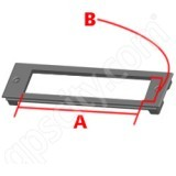 RAM Mount A33 RAM Custom Faceplate for Console RAM-FP2-6300-1580