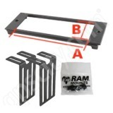 RAM Mount B66 RAM Custom Faceplate for Console RAM-FP4-6610-3350
