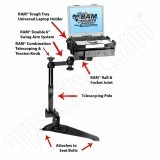 RAM Mount Subaru Dual Arm Laptop Vehicle Mount