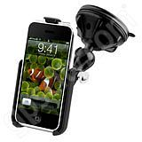 RAM Mount Apple iPhone Grip-Lock Suction Cup Mount